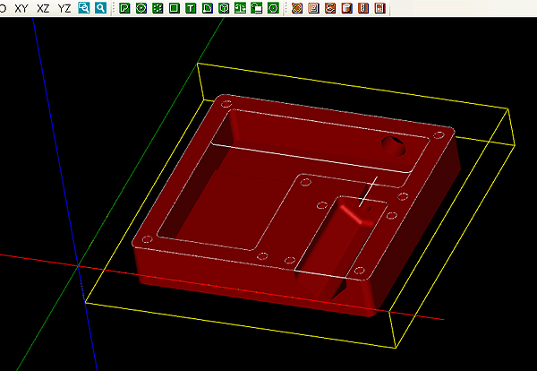 Simulate with CAMotics